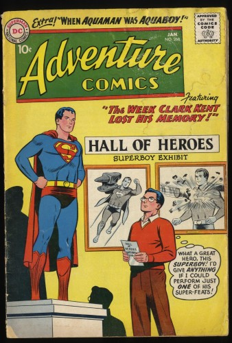 Adventure Comics #268 GD 2.0
