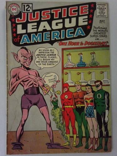 Justice League Of America #11 GD- 1.8 DC Comics