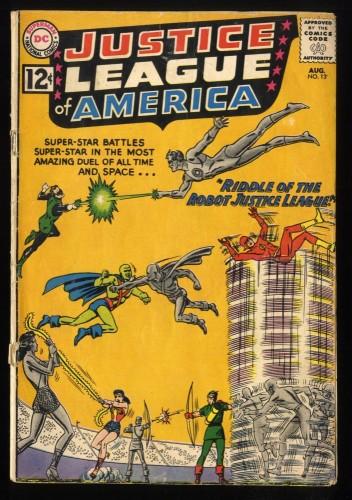 Justice League Of America #13 FA/GD 1.5 DC Comics