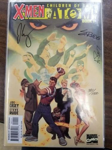 X-Men Children Of The Atom #1 Dynamic Forces Signed Autograph COA 381/1500!