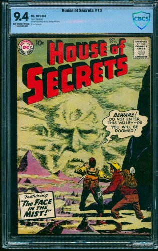 House Of Secrets #13 CBCS NM 9.4 Off-White to White