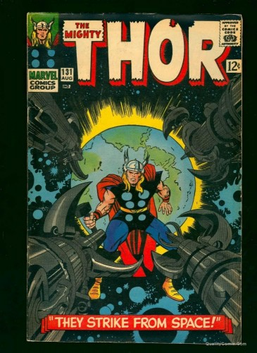 Thor #131 FN+ 6.5 White Pages