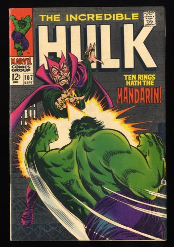 Incredible Hulk #107 VF 8.0