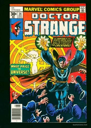Dr. Strange #24 NM+ 9.6 White
