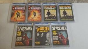 CGC Magazine Lot Bronze Age (7 Comics) Punisher Marvel Super Action