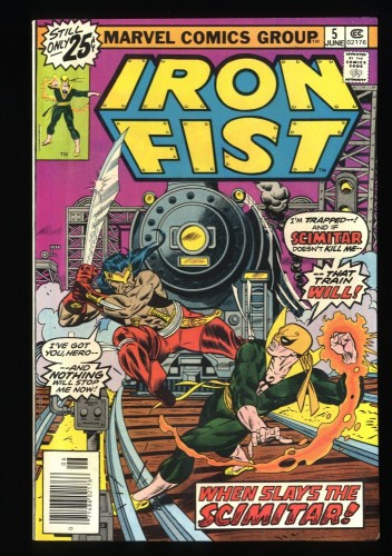 Iron Fist #5 VF/NM 9.0