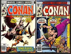 Conan The Barbarian #s 75-123 (24 Books)