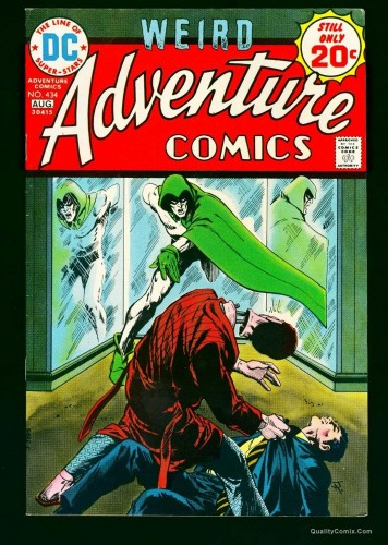 Adventure Comics #434 VF 8.0 White