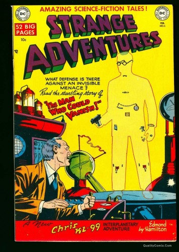 Strange Adventures #5 NM- 9.2 White