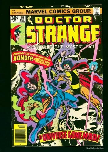 Dr. Strange #20 NM+ 9.6 White
