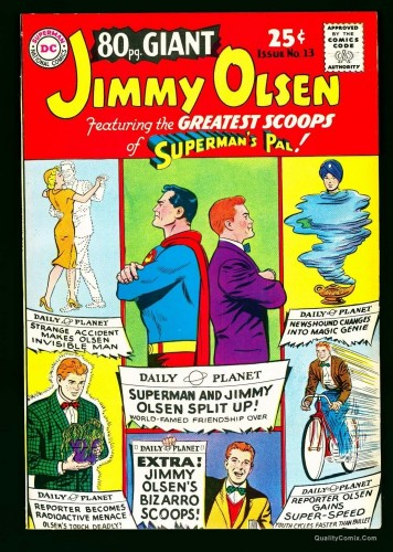 Eighty Page Giant #13 VF 8.0 Cream to Off-White Bethlehem Superman!