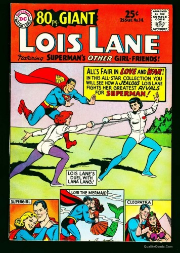 Eighty Page Giant #14 VF- 7.5 Cream to Off-White Lois Lane Superman!