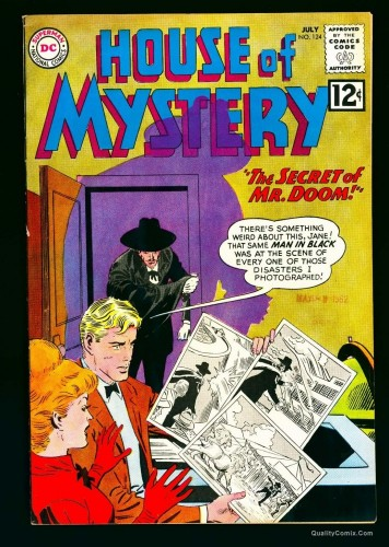 House Of Mystery #124 VF/NM 9.0 White Bethlehem