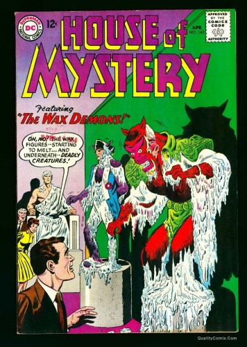 House Of Mystery #142 NM- 9.2 White Bethlehem