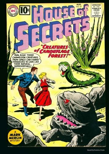 House Of Secrets #47 VF+ 8.5 DC Comics