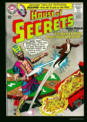 House Of Secrets #71 NM 9.4 Off-White to White Bethlehem