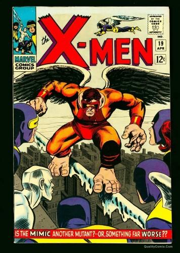 X-Men #19 VF+ 8.5 White