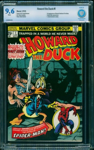 Howard the Duck #1 CBCS NM+ 9.6 White