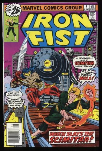 Iron Fist #5 VF 8.0