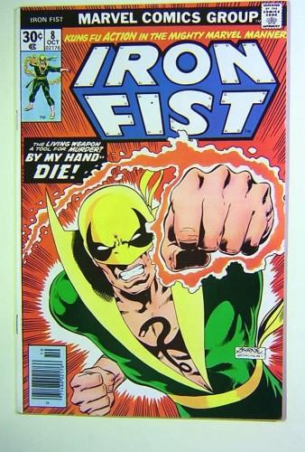 Iron Fist #8 VF+ 8.5