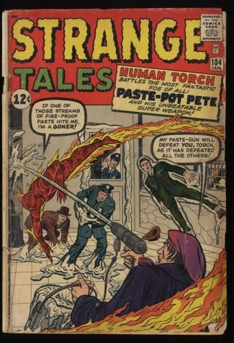 Strange Tales #104 FA/GD 1.5 Human Torch!