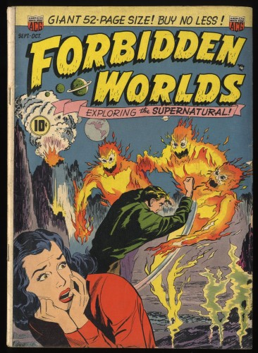Forbidden Worlds #2 VG 4.0