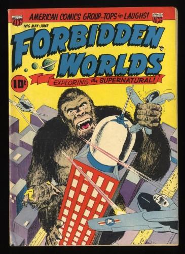 Forbidden Worlds #6 FN 6.0