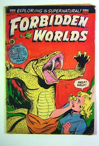Forbidden Worlds #20 GD- 1.8