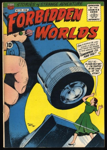 Forbidden Worlds #75 VF- 7.5