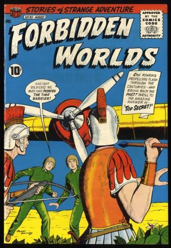 Forbidden Worlds #89 VF+ 8.5