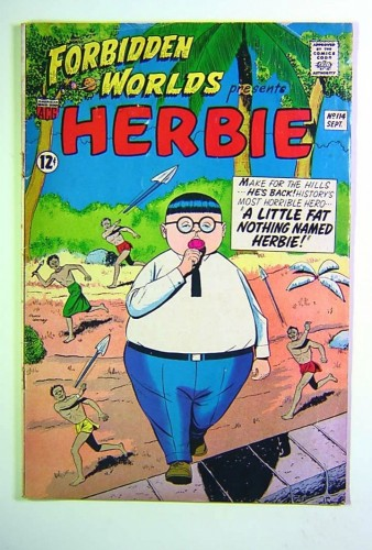 Forbidden Worlds #114 GD/VG 3.0 1st Herbie on cover