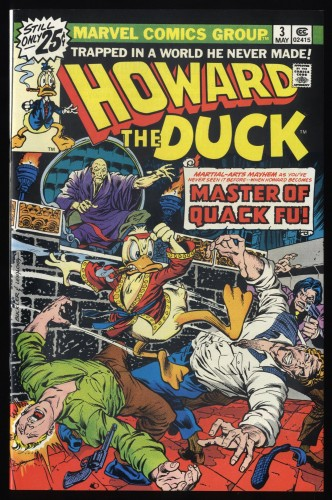 Howard the Duck #3 NM+ 9.6