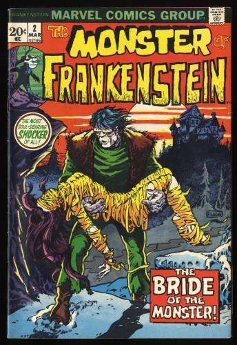 Frankenstein #2 FN 6.0