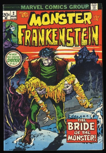 Frankenstein #2 VF- 7.5 Marvel Comics