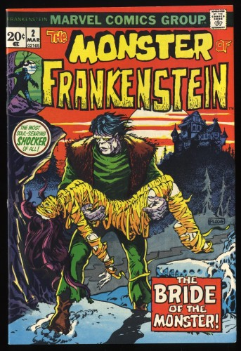 Frankenstein #2 VF 8.0 Marvel Comics