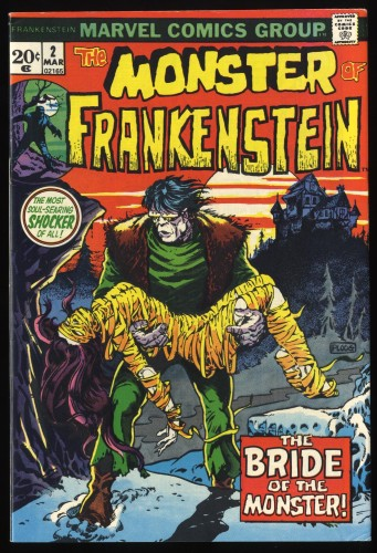 Frankenstein #2 FN/VF 7.0 Marvel Comics