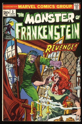 Frankenstein #3 NM- 9.2 Marvel Comics