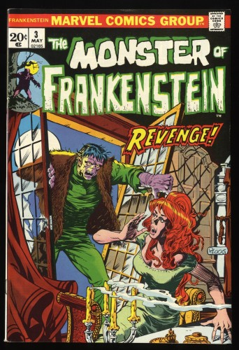Frankenstein #3 VF/NM 9.0