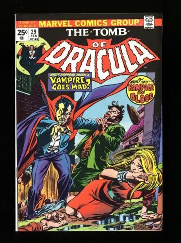 Tomb Of Dracula #29 NM+ 9.6