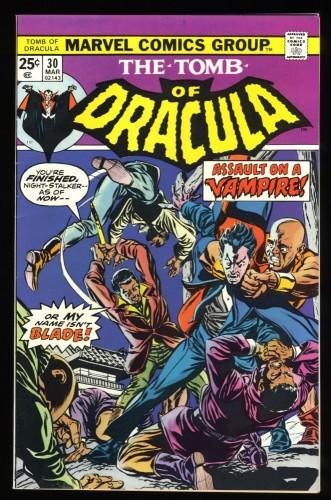 Tomb Of Dracula #30 NM- 9.2 Blade!