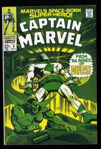 Captain Marvel #3 VG/FN 5.0