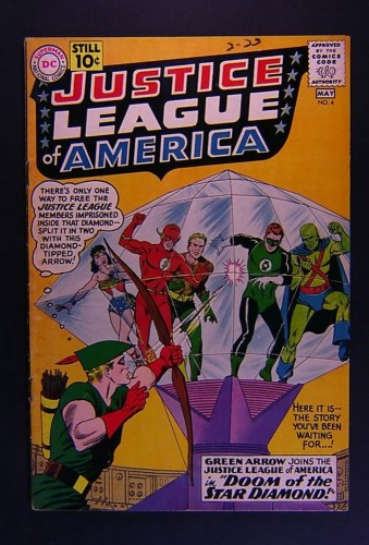 Justice League Of America #4 VG/FN 5.0