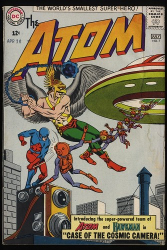 Atom #7 VG 4.0