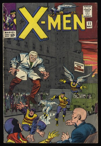 X-Men #11 VG+ 4.5