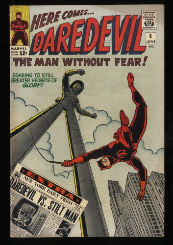 Daredevil #8 FN/VF 7.0