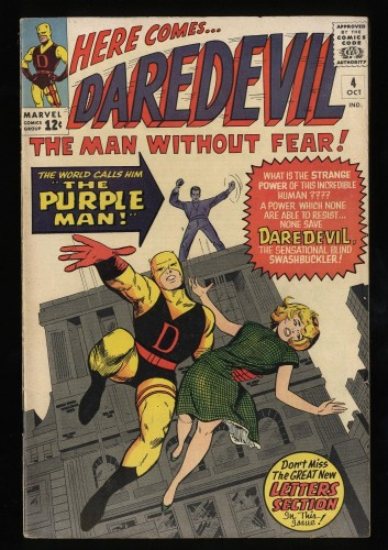 Daredevil #4 FN/VF 7.0