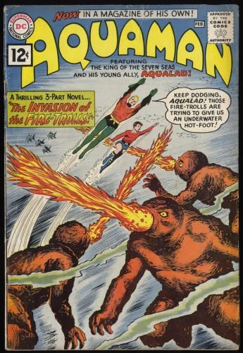 Aquaman #1 VG+ 4.5