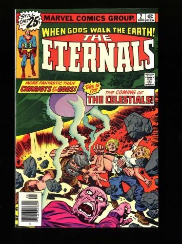 Eternals #2 NM 9.4