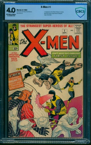 X-Men #1 CBCS VG 4.0 Off White to White Marvel Comics