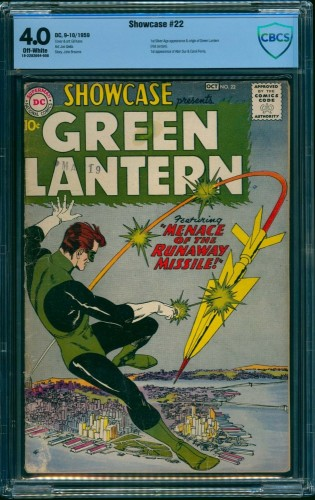 Showcase #22 CBCS VG 4.0 Off White DC Comics